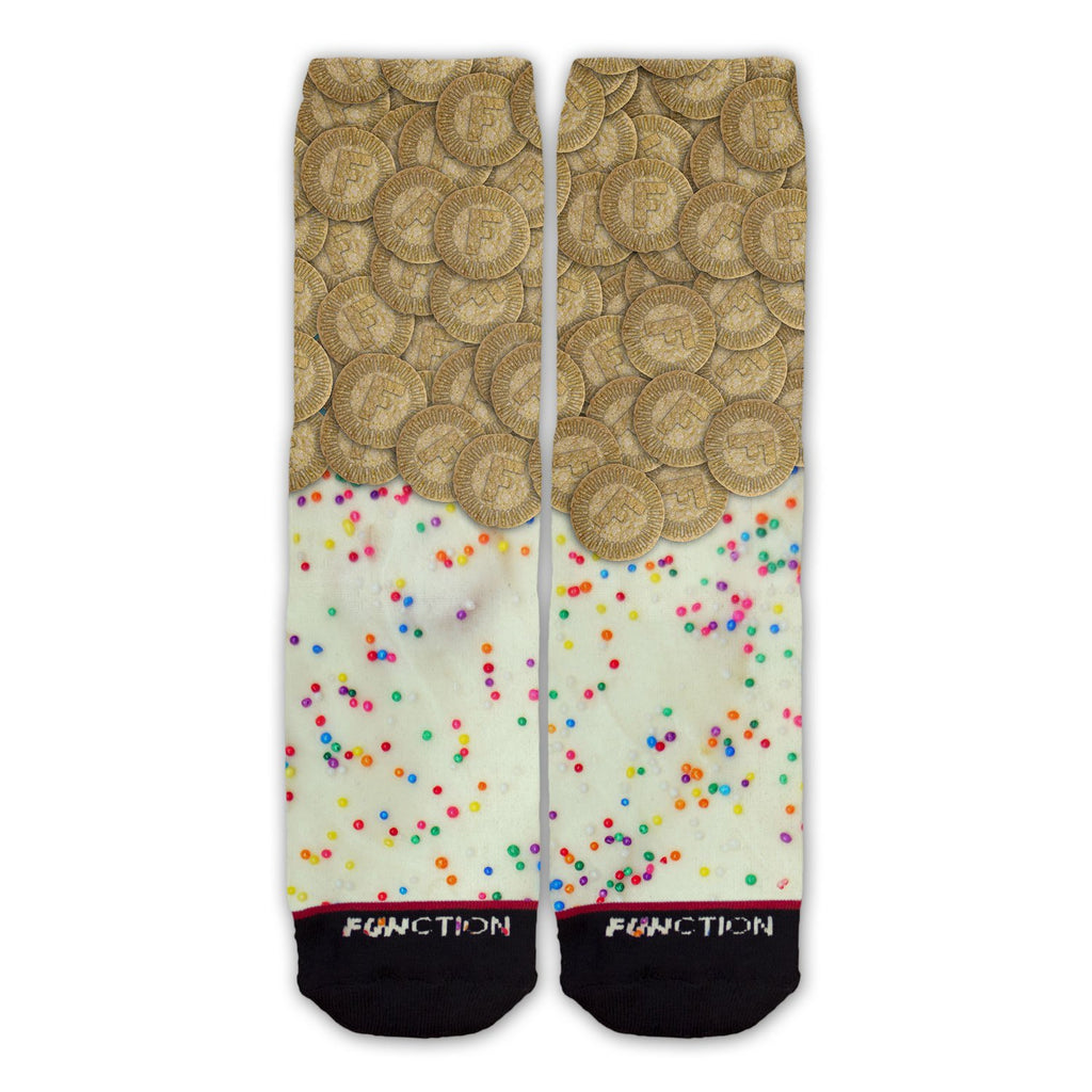 Function - Funkaroos Cookies and Frosting School Lunch Sprinkles Fashion Socks