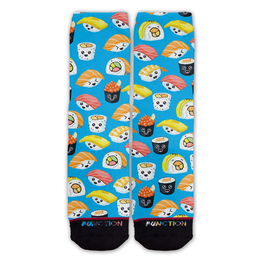 Function - Happy Sushi Cartoon Pattern Fashion Socks
