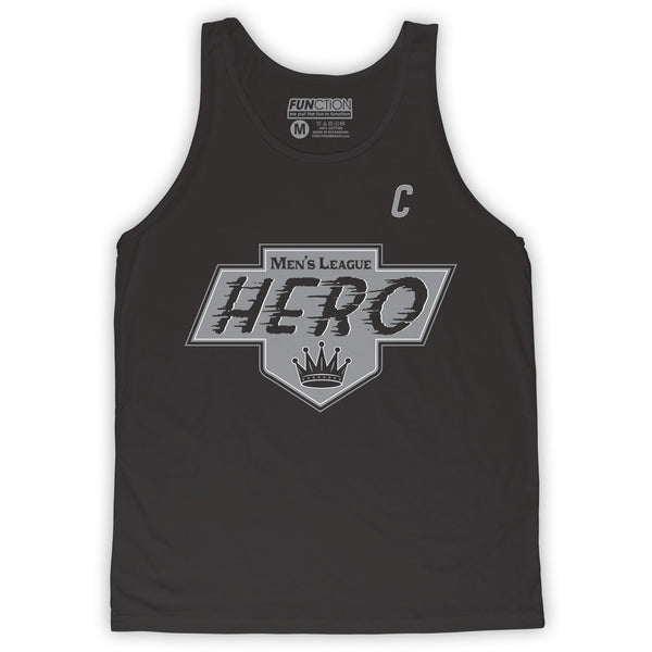 Function -  Mens League Hero Men's Fashion Tank Top