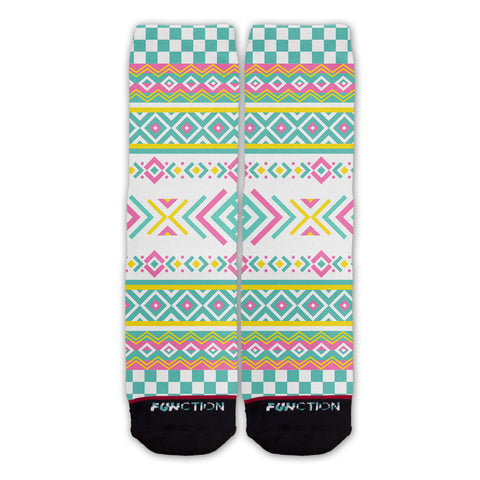 Function - Midwest Ice Tea Pattern Fashion Socks