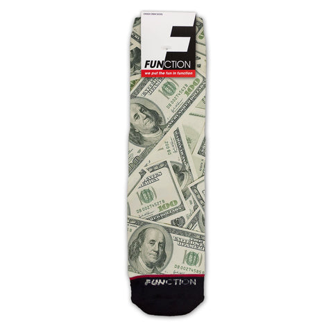 Function - Money Stacks Fashion Socks