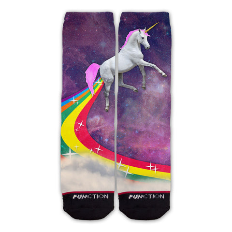 Function - Rainbow Farting Unicorn Fashion Socks