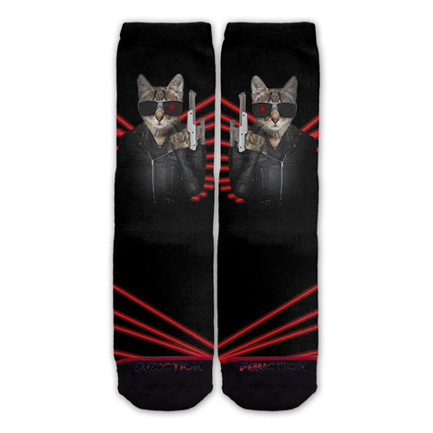 Function - Exterminator Cat Fashion Sock