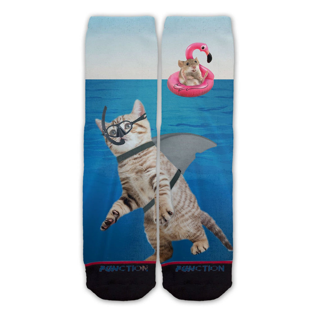Function - Shark Cat Fashion Socks