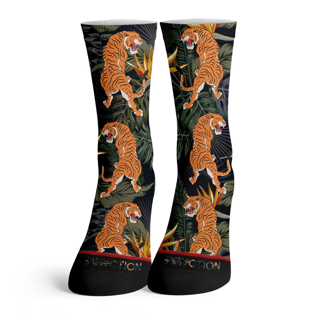 Function - Tropical Tiger Pattern Socks