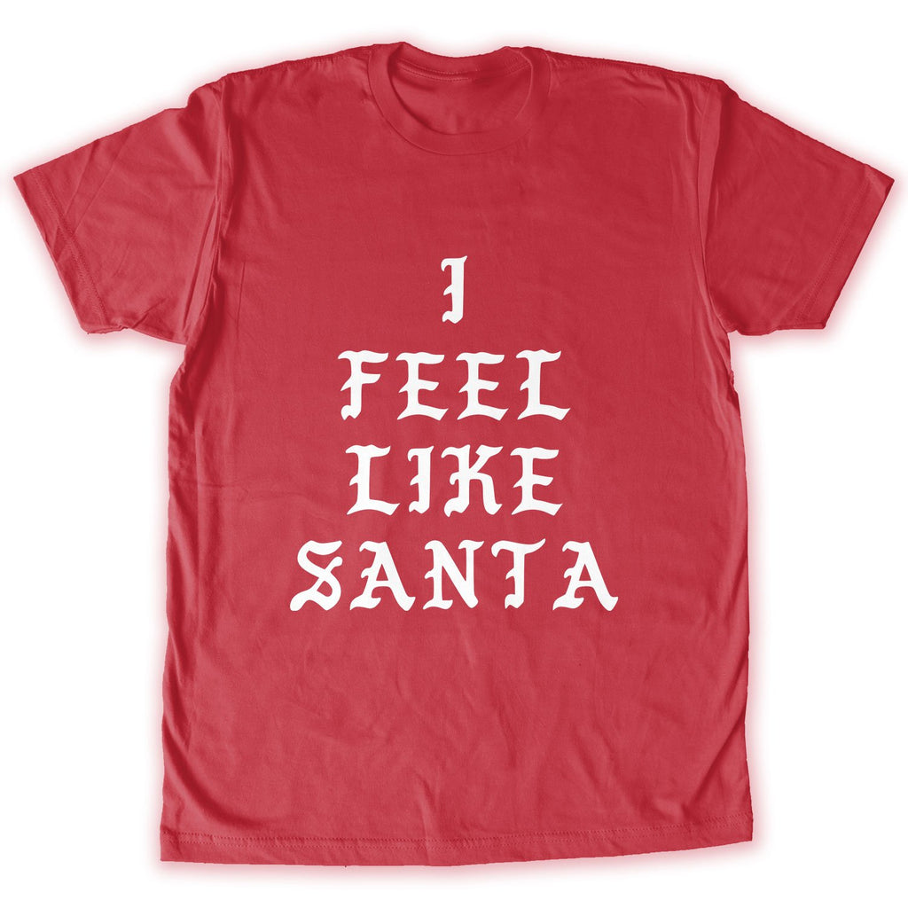 Function -  I Feel Like Santa Men's Fashion T-Shirt Black