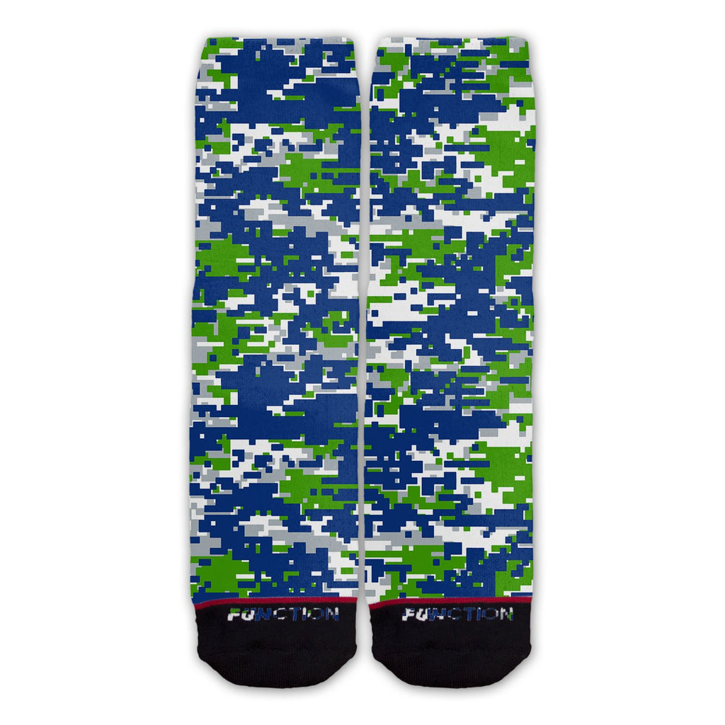Function - Seattle Football Team Digital Camo Fashion Socks