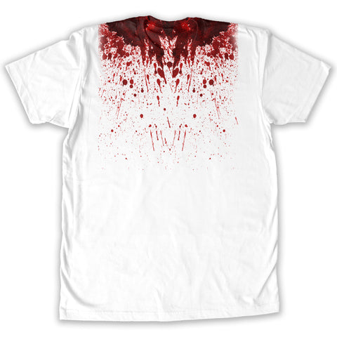 Function -  Blood Splatter Halloween Costume Men's Fashion T-Shirt