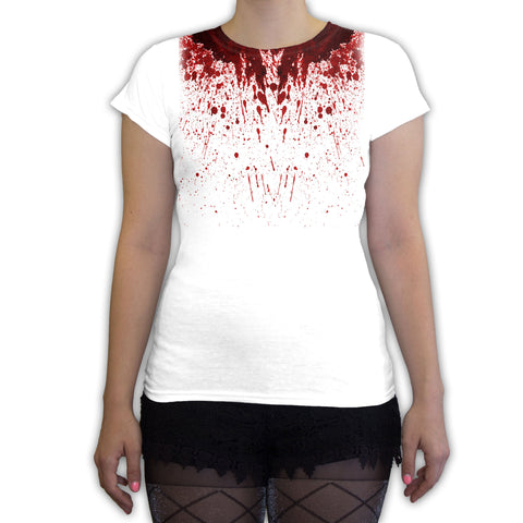 Function -  Blood Splatter Halloween Costume Women's Fashion T-Shirt