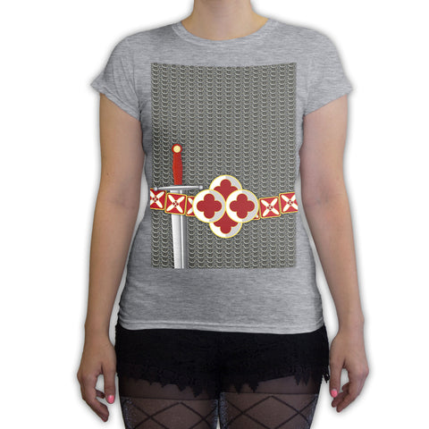 Function -  Chainmail Halloween Costume Women's Fashion T-Shirt