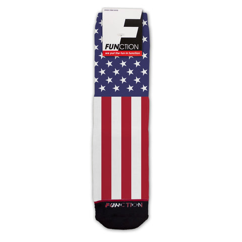 Function - American Flag Fashion Socks