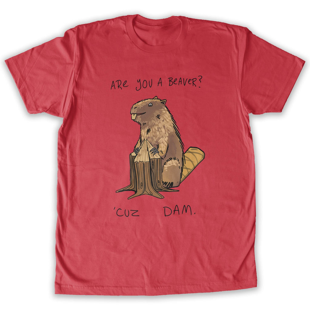 are You A Beaver Fashion Mens T-Shirt and Hats Youth /& Adult T-Shirts