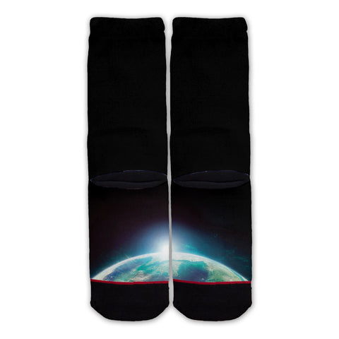 Function - Astronaut Cat in Space Fashion Sock Back