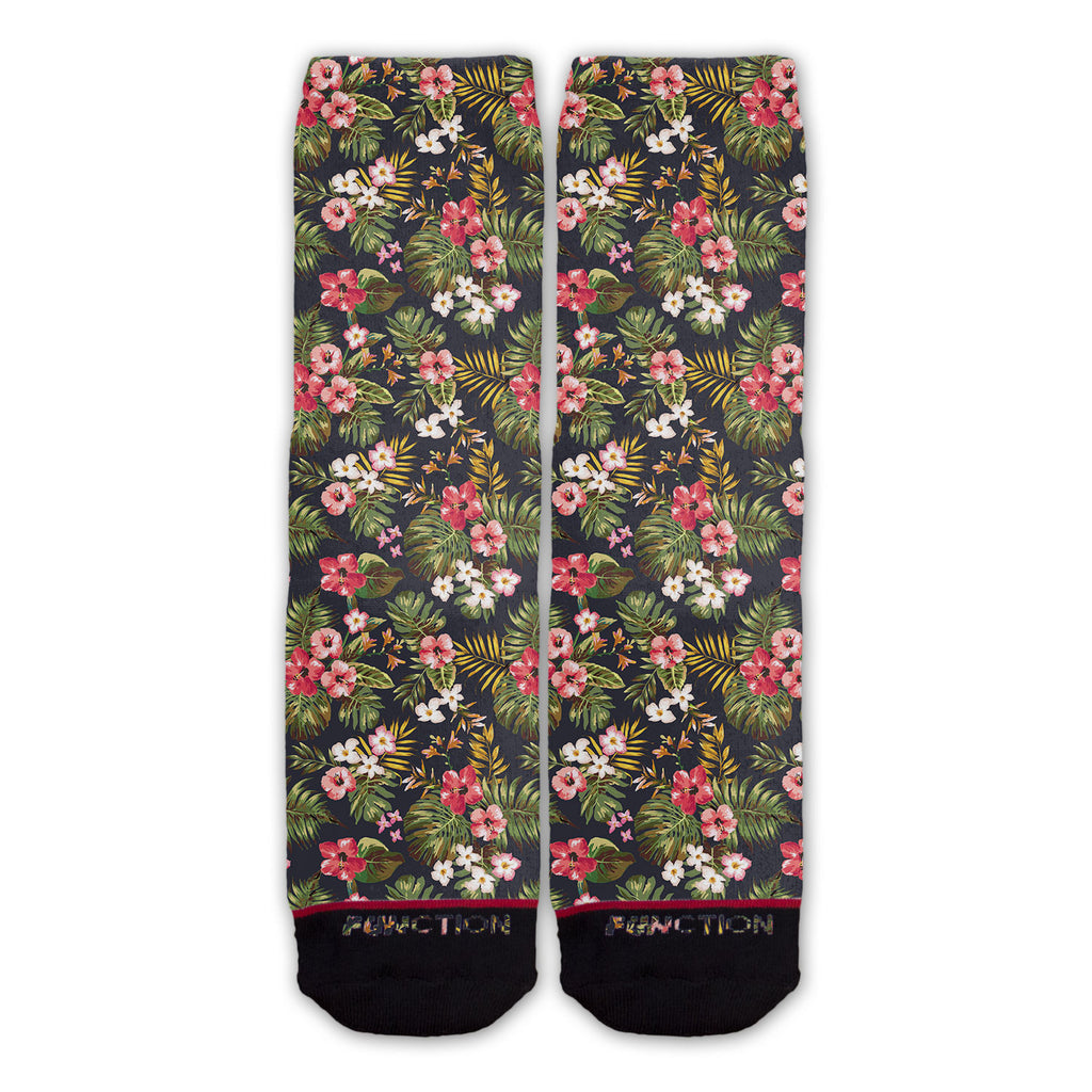 Function - Floral Pattern Fashion Socks