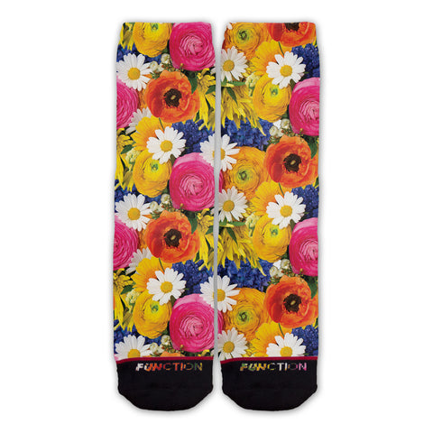 Function - Bouquet Of Flowers Fashion Socks