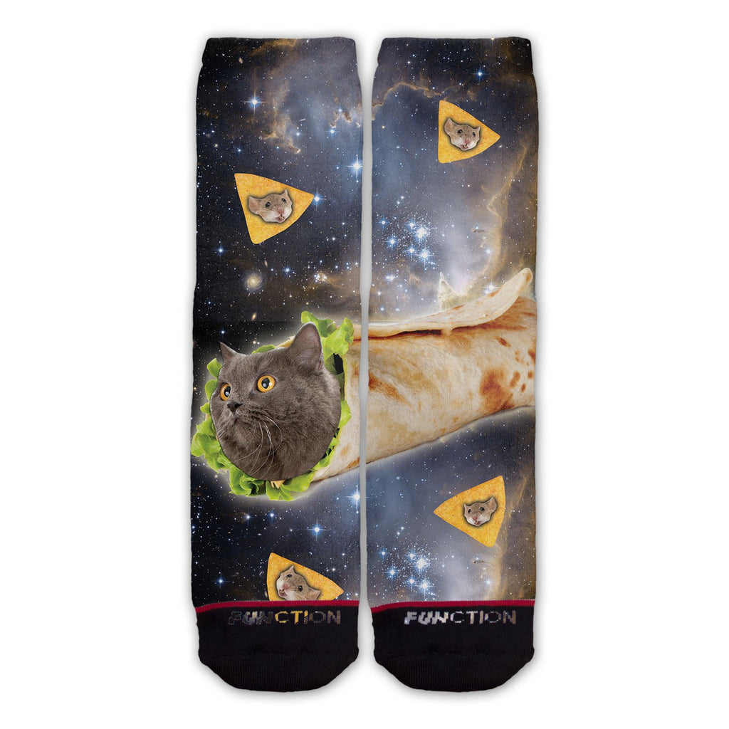Burrito Cat Fashion Socks