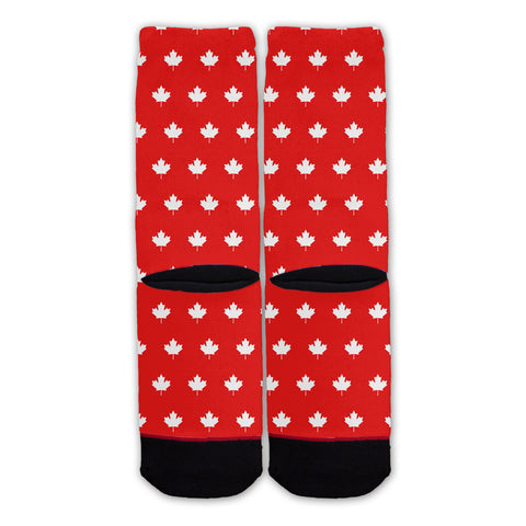 Function - Canada Maple Leaf Pattern Fashion Sock