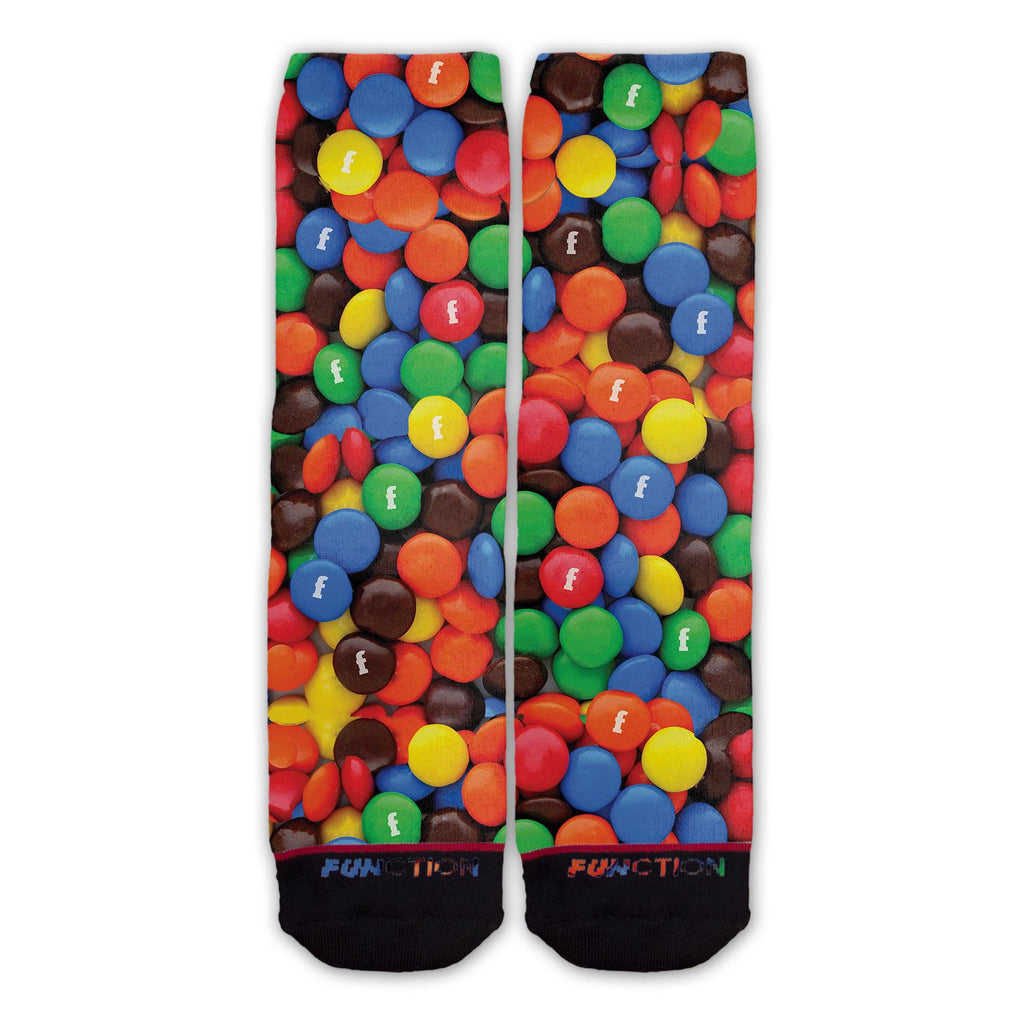 Function - Candy Coated Chocolate Pieces Fashion Socks
