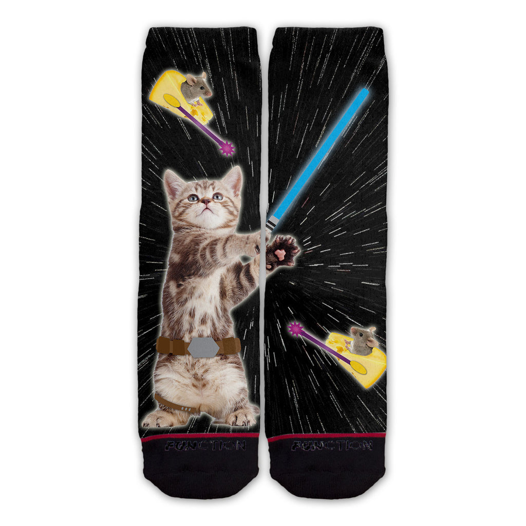 Function - Galaxy Cat Wars Fashion Socks