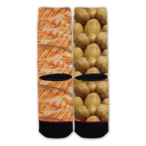Function - Chicken and Potatoes Fashion Socks