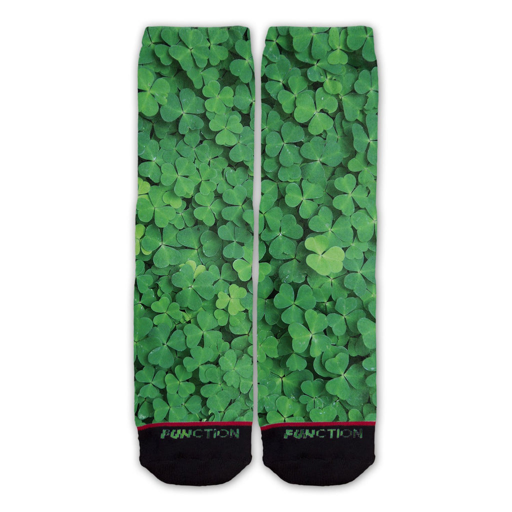 Function - St. Patricks Day Clover Field Fashion Socks