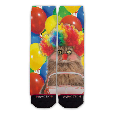 Function - Clown Cat Fashion Socks