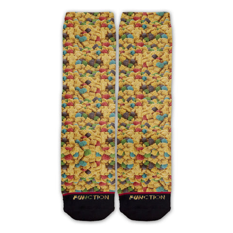 Function - Commander Crunchy Breakfast Cereal Fashion Sock