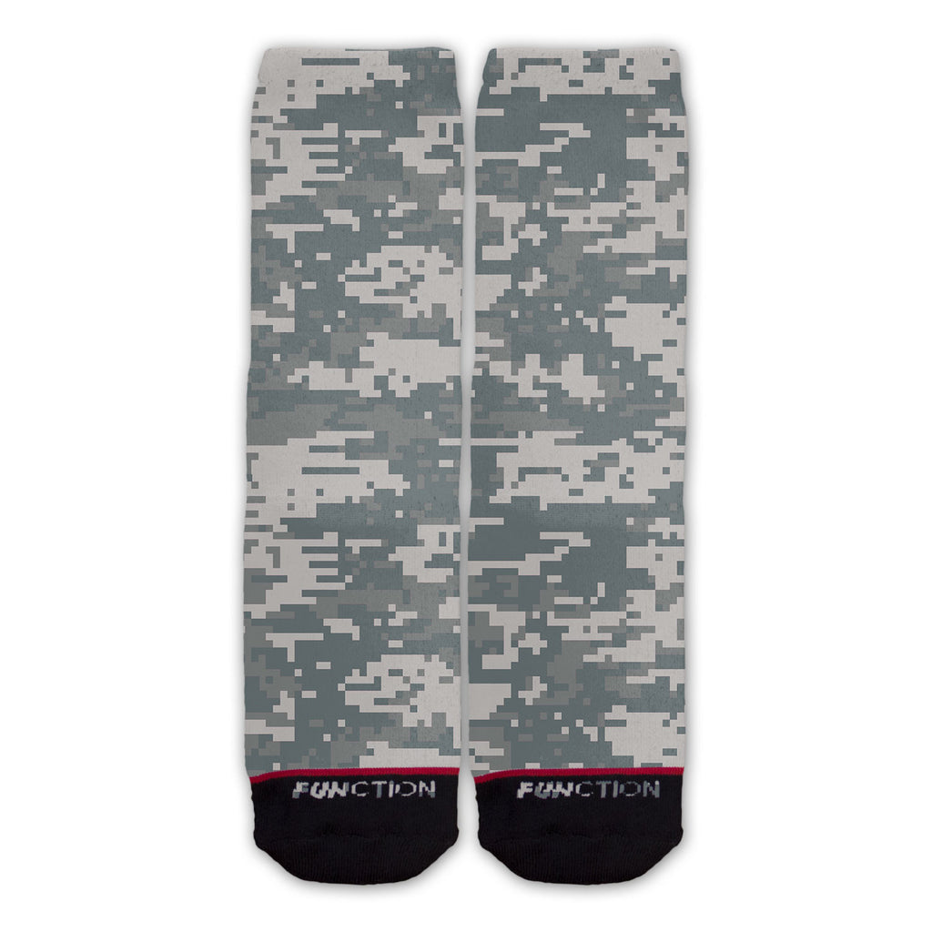 Function - Digital Camo Fashion Sock