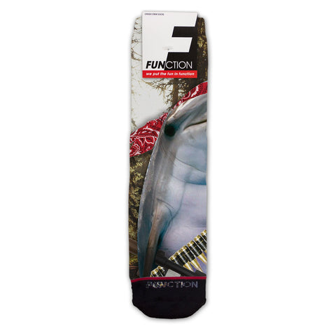 Function - Dolphin Attack Fashion Sock