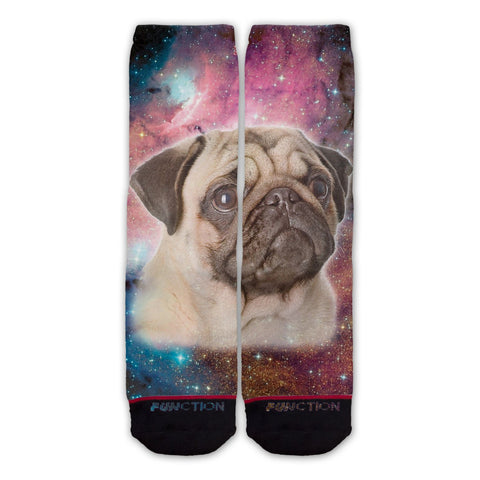 Function - Galaxy Pug Fashion Sock