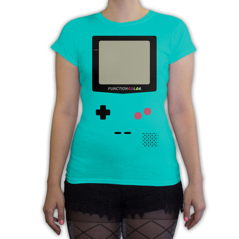 Function -  Game Console Halloween Costume Women's Fashion T-Shirt Teal
