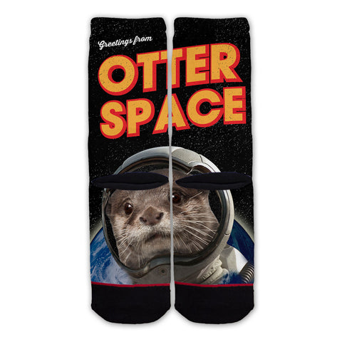 Function - Greetings From Otter Space Fashion Sock