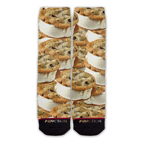Function - Ice Cream Cookie Sandwich Fashion Socks