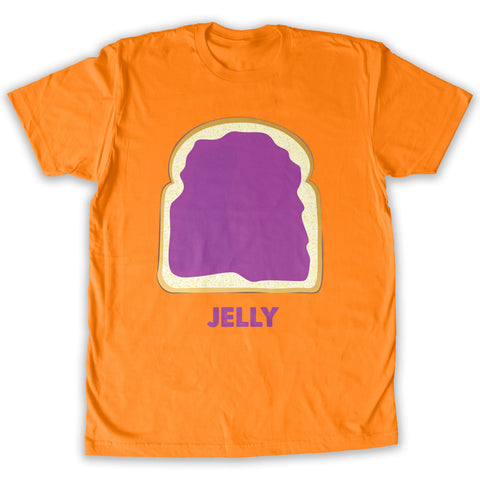 Function -  Couples Jelly Costume Men's Fashion T-Shirt Orange