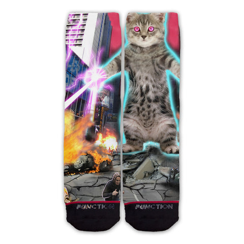 Function - Laser City Kitten Fashion Socks