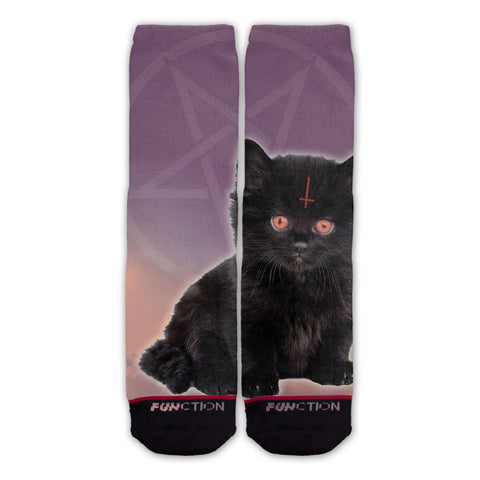 Function - Lucipurrr Satan Cat Fashion Socks