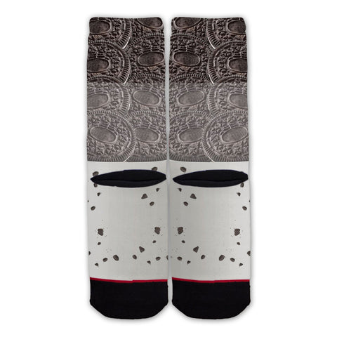 Function - Milk and Chocolate Cookies Fashion Sock