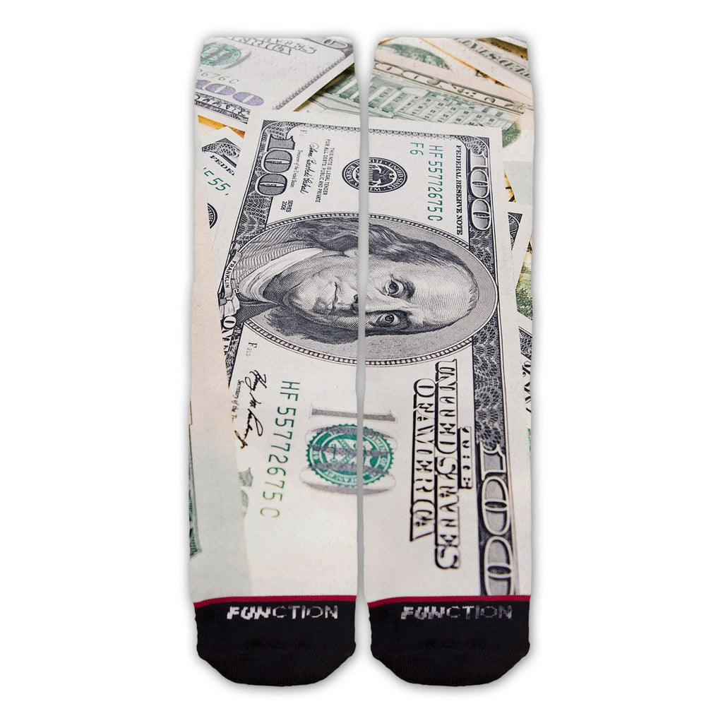 Function - Money Big Bills Fashion Socks