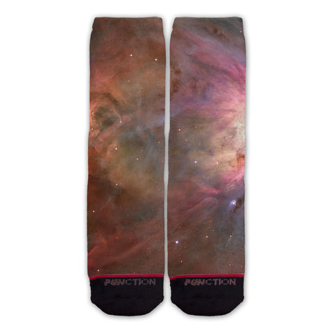 Function - Orion Nebula Galaxy Print Fashion Socks