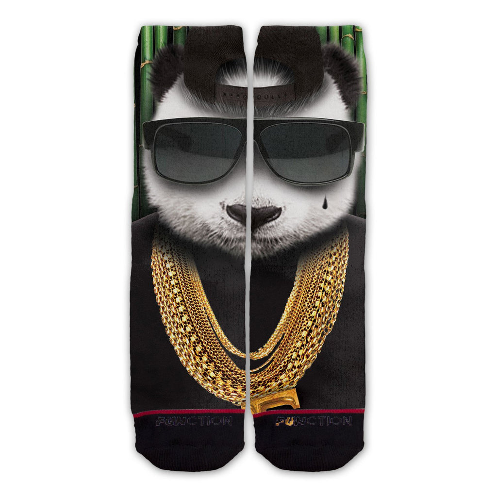 Function - Panda Gangster Fashion Socks