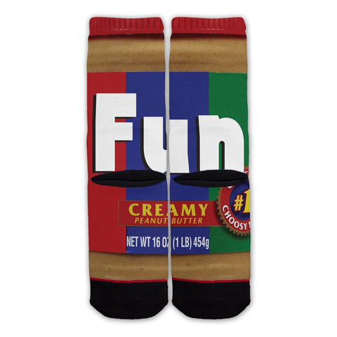 Function - Peanut Butter And Jelly Fashion Socks