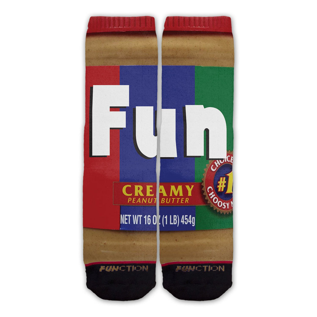 Function - Peanut Butter Fashion Socks
