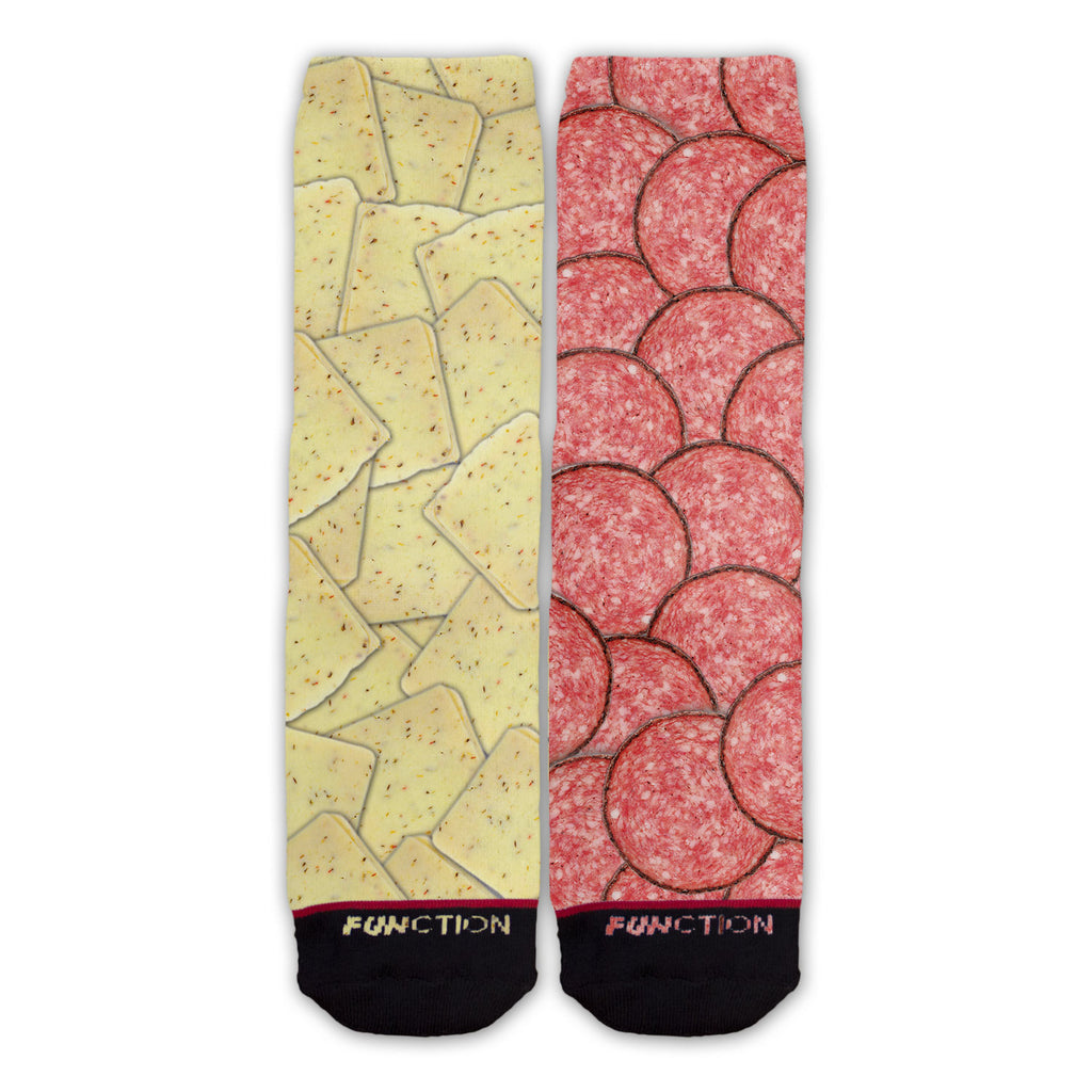 Function - Pepper Jack Cheese and Salami Fashion Socks