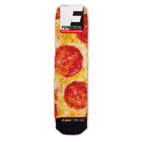 Function - Pepperoni Pizza Fashion Socks