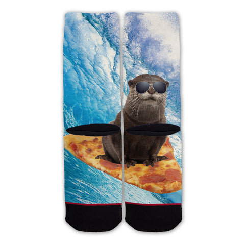 Function - Pizza Surfing Otter Fashion Sock