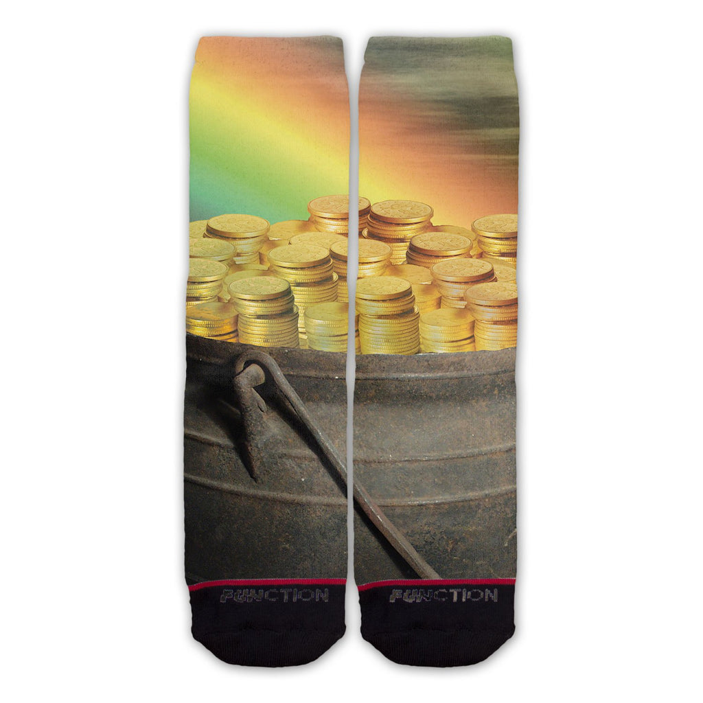 Function - St. Patricks Day Pot Of Gold Fashion Socks
