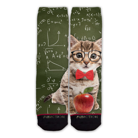 Function - Professor Cat Fashion Socks