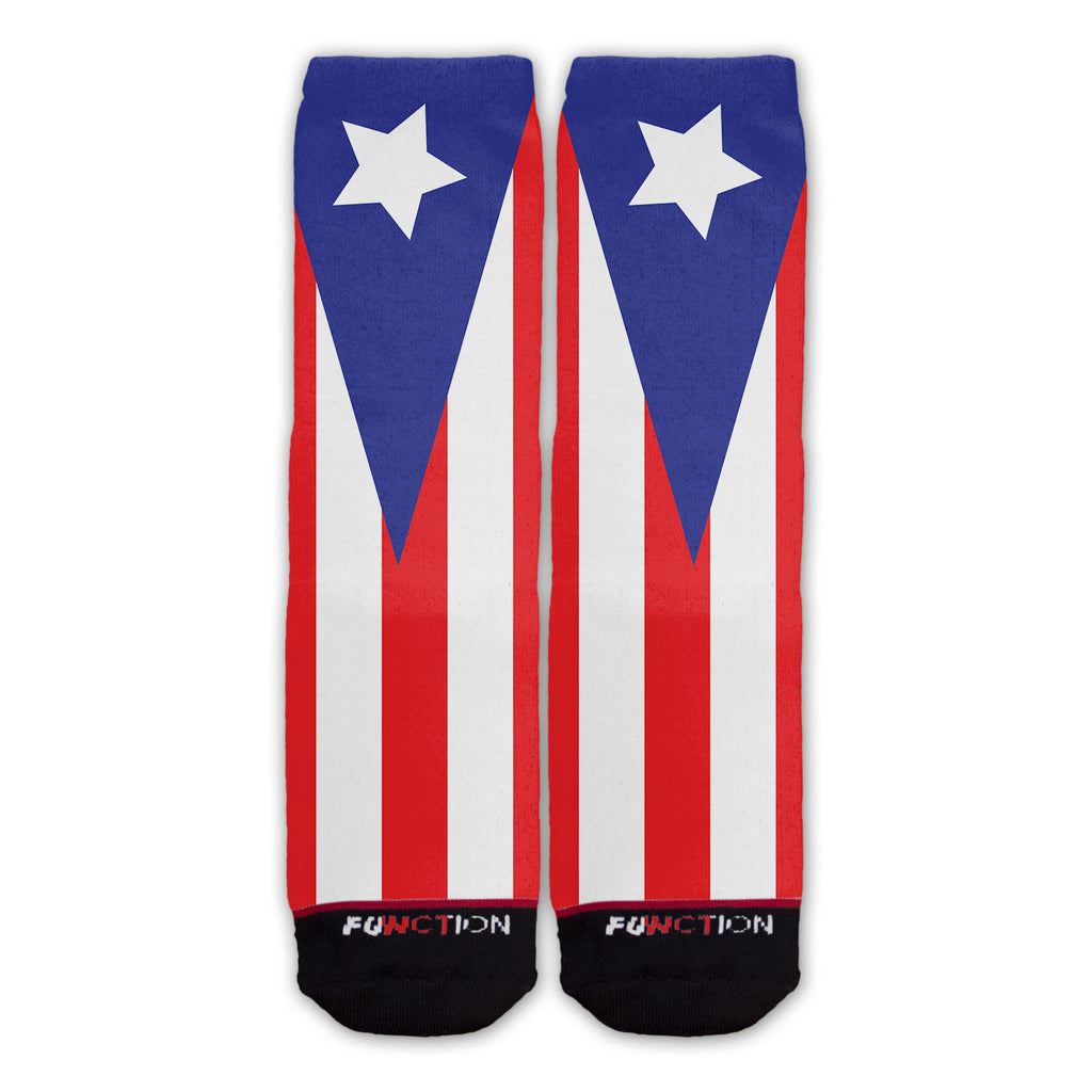 Function - Puerto Rican Flag Fashion Socks