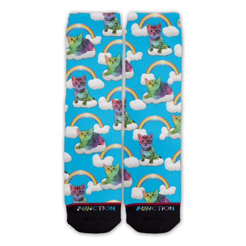 Function - Rainbow Cats Fashion Socks