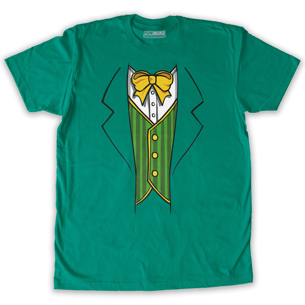 Function -  St.Patrick's Day Leprechaun Costume Men's Fashion T-Shirt Kelly Green